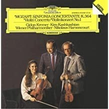 Mozart – Sinfonia Concertante K. 364 – Violin Concerto No. 1 – Gidon Kremer