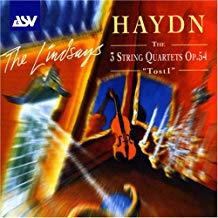 Haydn – Quartets Op.54 – The Lindsays