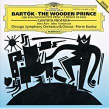 Bartók – The Wooden Prince; Cantata Profana – Pierre Boulez