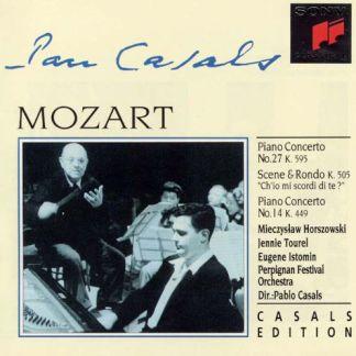 Mozart Piano Concertos – Pablo Casals