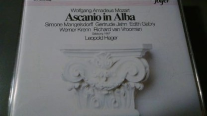 Mozart – Ascanio in Alba – Leopold Hager (2 CDs)