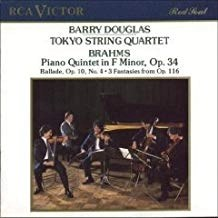 Brahms – Piano Quintet in F Minor – Solo Pieces — Barry Douglas