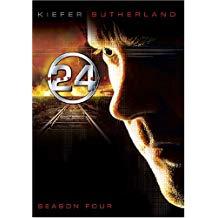 24 Season 4 – Kiefer Sutherland DVD TV Show Box Set)