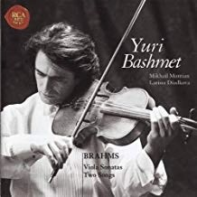 Brahms – Sonatas For Viola & Piano, Op. 120 – Two Songs, Op. 91 = Mikhail Muntian,