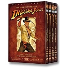 The Adventures Of Indiana Jones – Harrison Ford (3 DVDs)