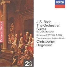 Bach – The Orchestral Suites – Christopher Hogwood (2 CDs)