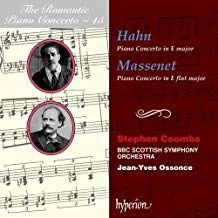 Hahn and Massenet – Piano Concertos – Stephen Coombs