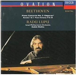 Beethoven – Piano Concerto 5, etc. – Radu Lupu