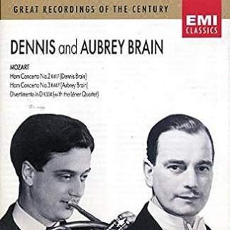 Mozart Horn Concerttos Nos. 2 & 3, Divertimento K334 – Dennis and Aubrey Brain