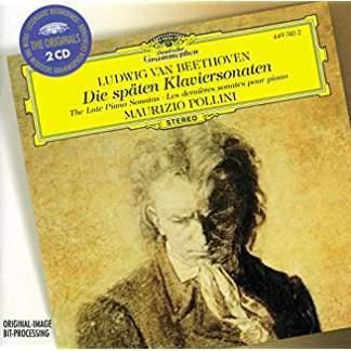 Beethoven – The Late Piano Sonatas – Maurizio Pollini (2 CDs)
