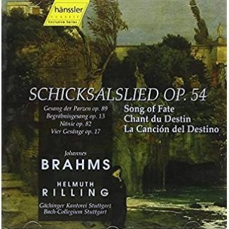 Brahms Schickalslied – Song Of Fate – Helmuth Rilling