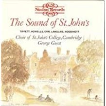 The Sound of St. John's – George Guest (Folsd in back of front artwork)