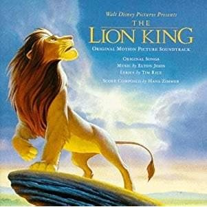 The Lion King – Original Motion Picture Soundtrack (Click for track listing)