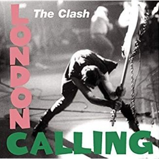 The Clash – London Calling (Wear to front cover)