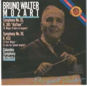 Mozart – Symphonies Nos 35 39;- Bruno Walter