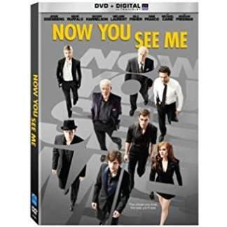 Now You See Me – Jesse Eisenbwerg, Mark Ruffalo (DVD) PG13 WS