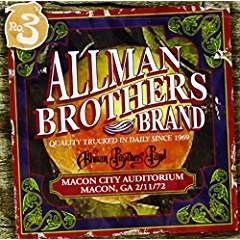 The Allman Brothers Band – Macon City Auditorium 2-11-72 (2 CDs)