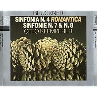 Anton Bruckner – Sinfonie Nos. 4, 7 & 8 – Otto Klemperer (3 CDs) (Fold in Booklet)