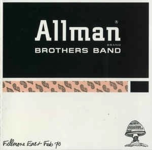 The Allman Brothers Band – Fillmore East 2-70 OOP