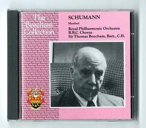 Schumann – Manfred – Sir Thomas Beecham
