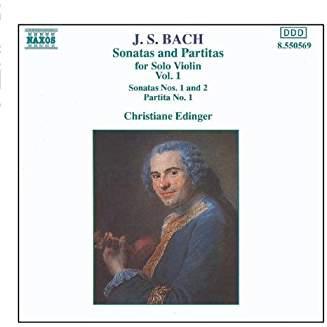 J.S. Bach – Violin Sonatas And Partitas, Vol. 1.