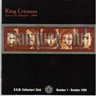 King Crimson – Live at The Marquee 1969