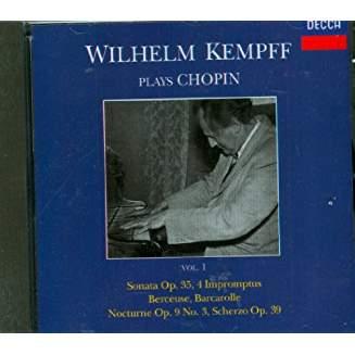 Wilhelm Kempff Plays Chopin, Vol. 1