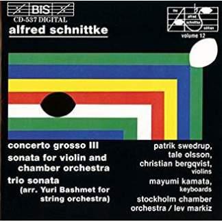 Alfred Schnittke – Concerto Grosso III