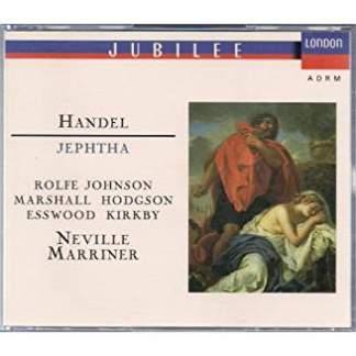 Handel – Jeptha – Chandos Anthem No. 2 (3 CDs)