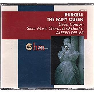 Purcell -The Fairy Queen – Alfred Deller (2 CDs)