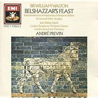 Walton – Belshazzar's Feast – Andre Previn