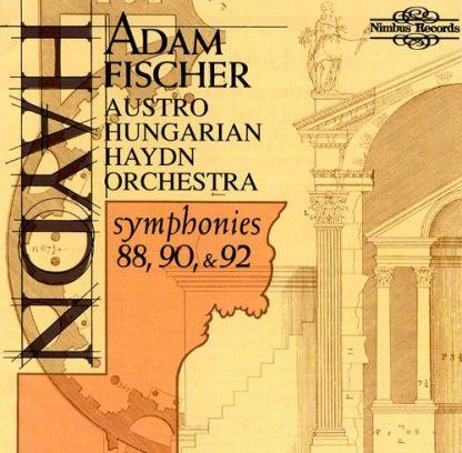 Haydn – Symphonies 88, 90 and 92 – Adam Fischer