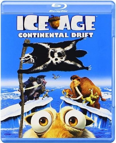 Ice Age Continental Drift (Blu-Ray) JUST Blu-ray does not contain Digital copy)