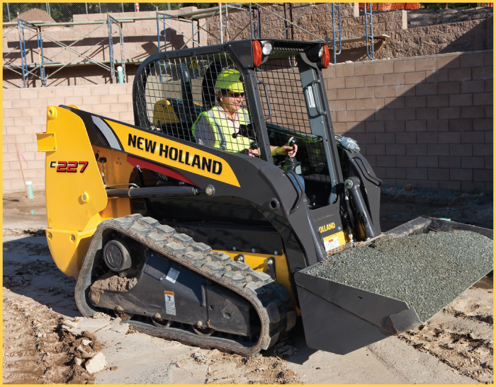Compact Track Loader Section