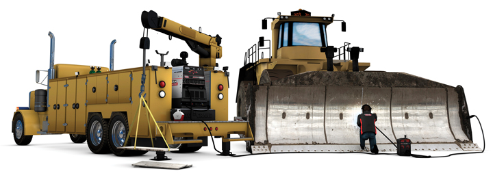 Lincoln Electric's Air Vantage 600 SD Hydraulic