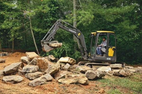hardscaping and large boulder work