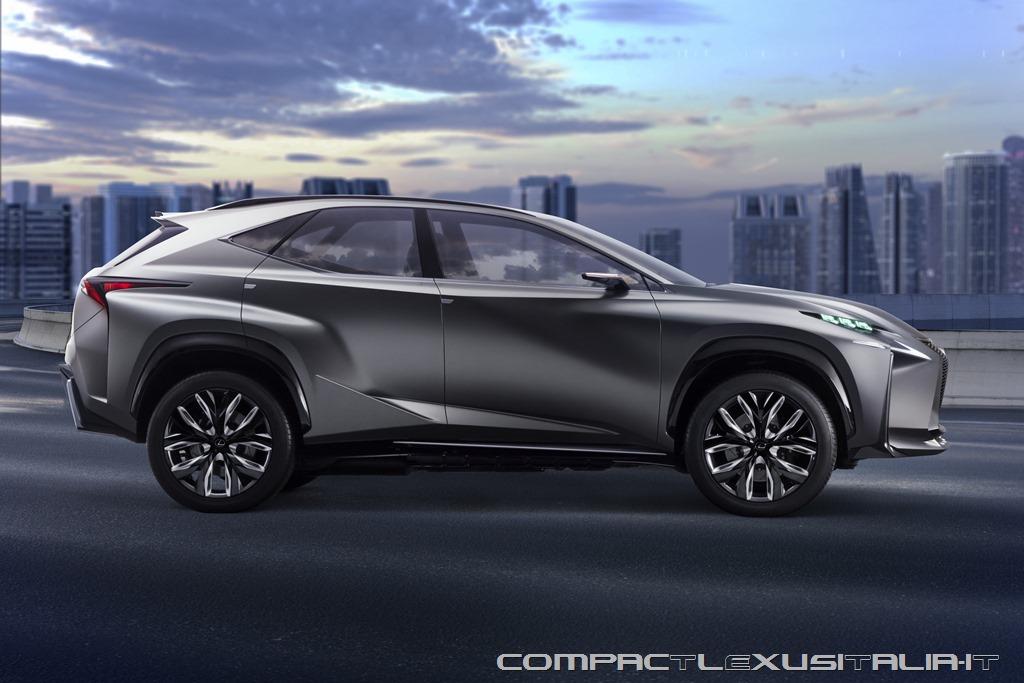 A Lexus serve un SUV più piccolo della NX ?