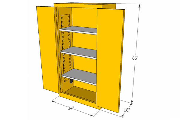 Flammable Materials Storage Cabinets, Flammable Storage