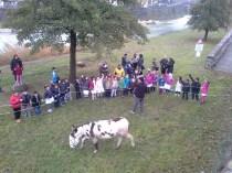 A Santa Sofia ci aspettavano due classi di terza elementare e due di prima media