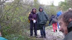 Silvana e Walter si sono uniti a noi per 4 giorni, anche loro fedeli compagni di cammino! Arriviamo sul passo Serra, e di là è bufera!!