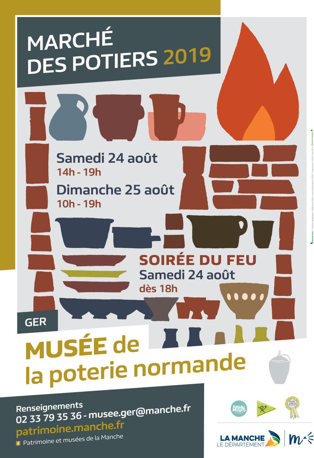 24/08/2019 Fête des Potiers Ger Compagnie Belizama.