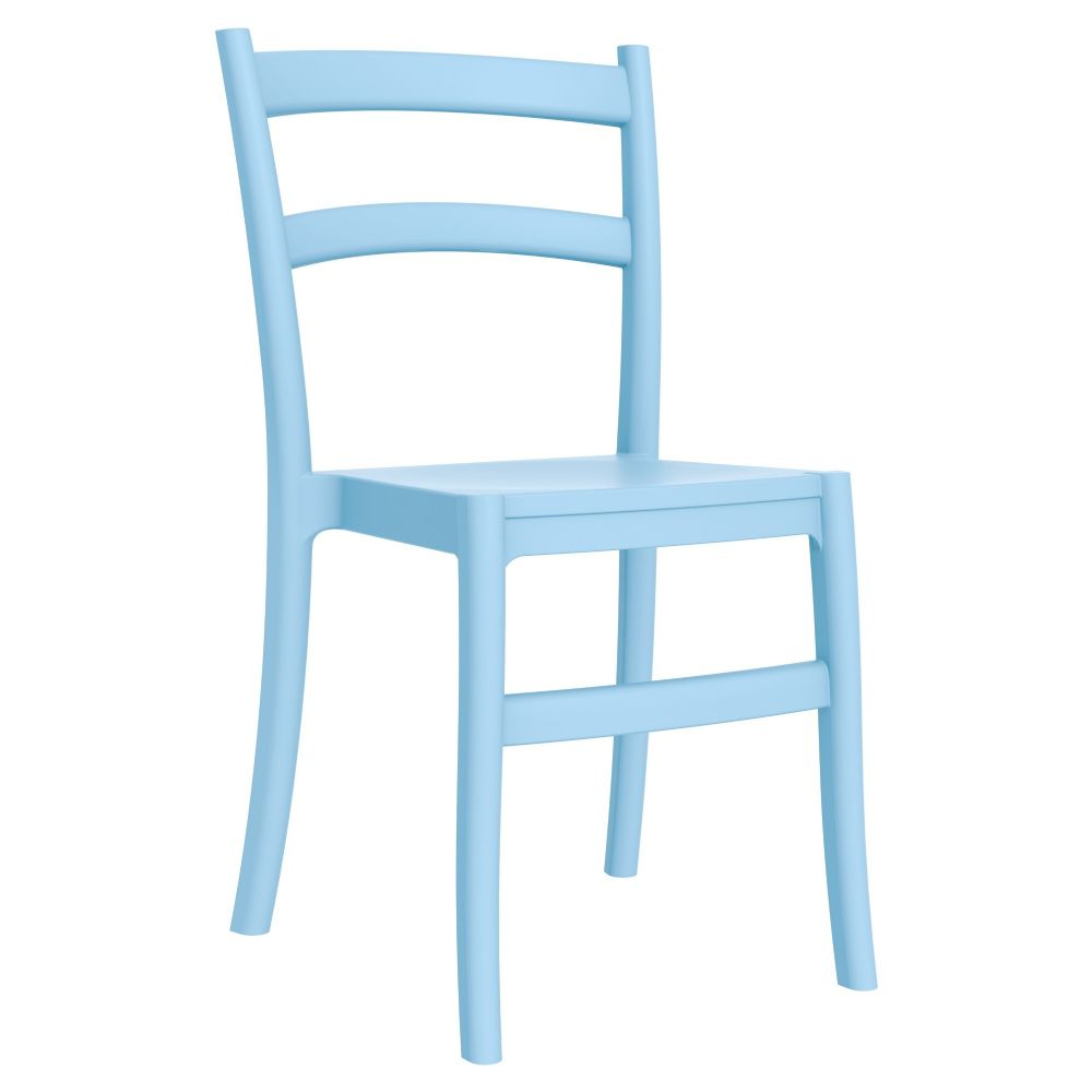 Tiffany Blue Chair Compamia Tiffany Cafe Dining Chair Blue Isp018 Lbl