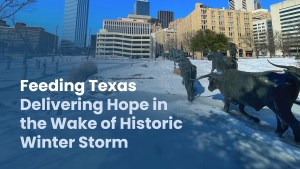 Feeding Texas Delivering Hope