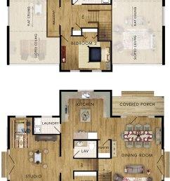 barn swallow floor plan [ 1000 x 1770 Pixel ]