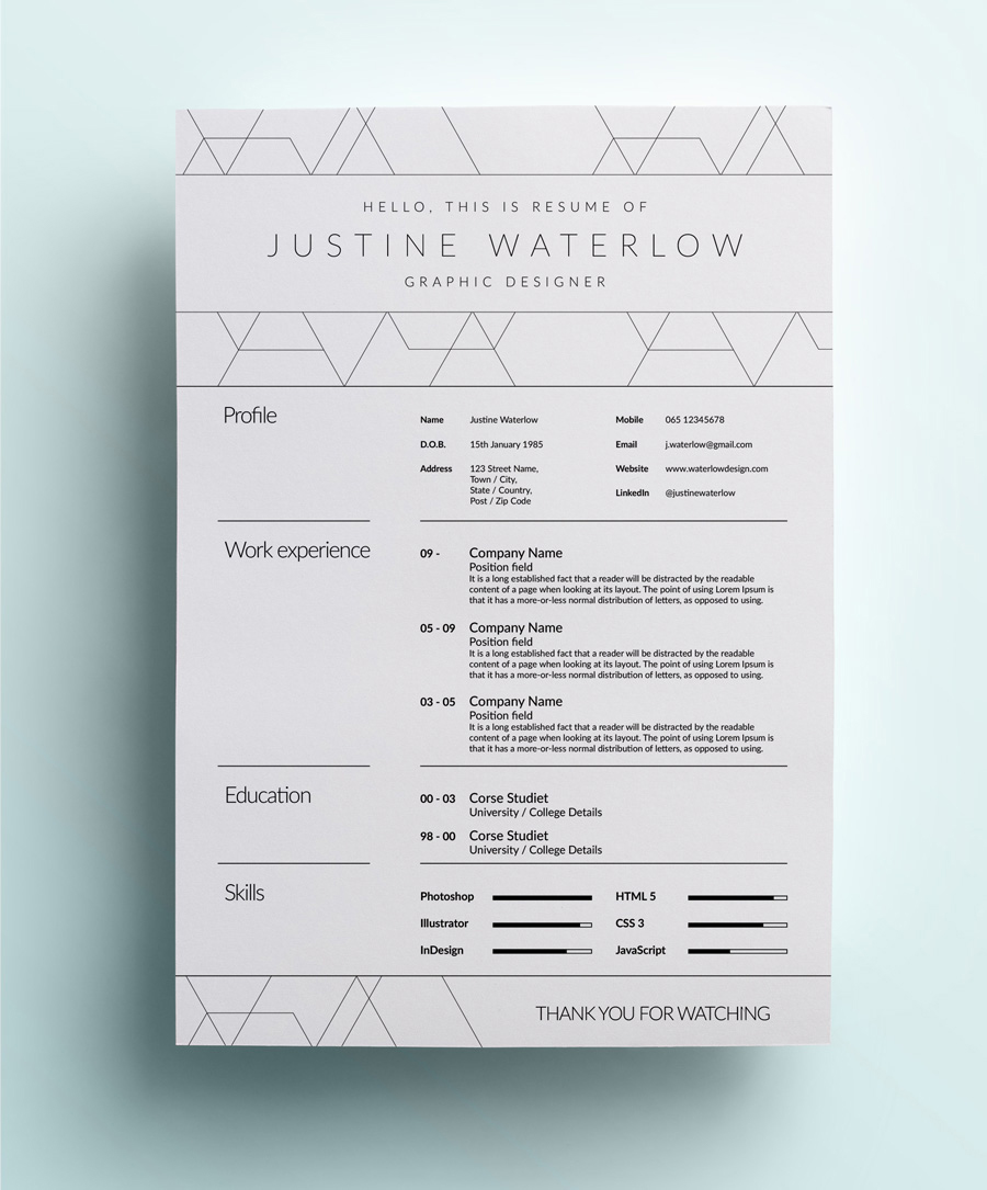 Resume For Fashion Designer Fresher 26 Best Graphic Design Resume Tips With Examples