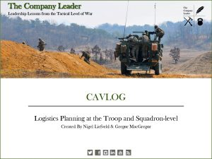 CAVLOG Presentation - The Company Leader