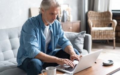 Seniorer er mest produktive på hjemmekontor