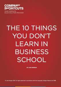 10 Things You Didn't Learn In Business School