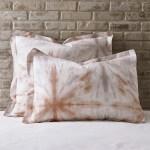 Tie Dye Organic Cotton Percale Comforter Sham