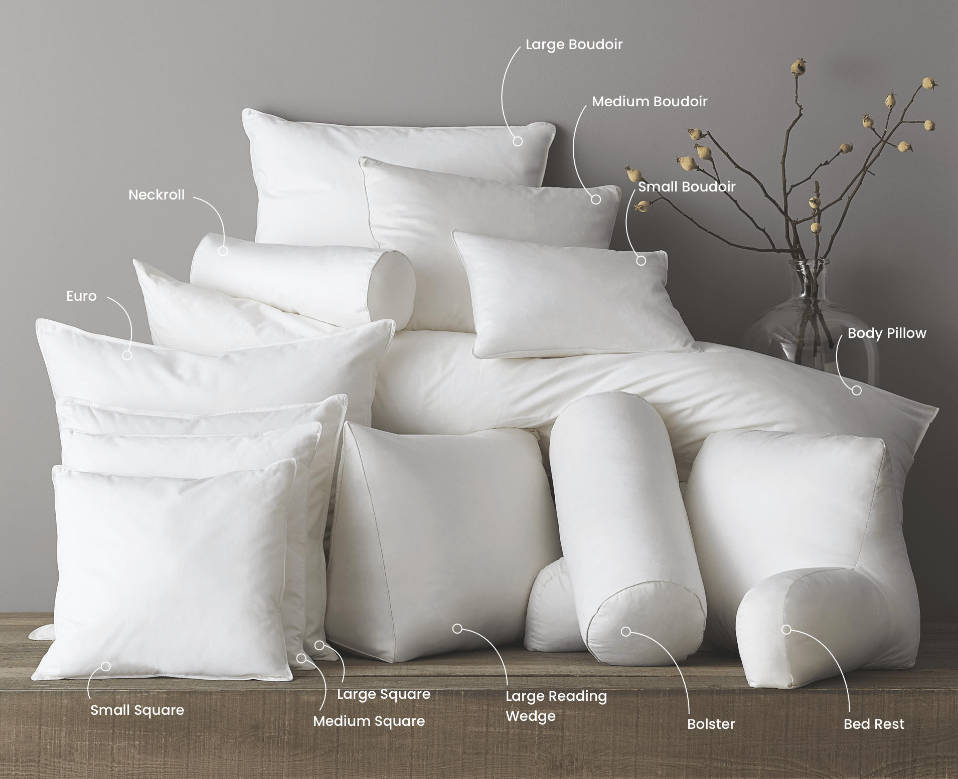pillow buying guide the company store
